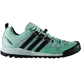 adidas TERREX Solo Shoes Women Clear Onix/Vapour Steel/Core Black